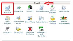 نحوه ویرایش اطلاات ایمیل از طریق سی پنل