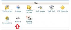 نحوه دریافت فایل Backup دیتابیس MySQL با فرمت SQL