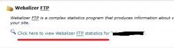 Webalizer FTP در سی پنل