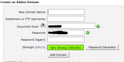 اضافه کردن دامین جدید یا Addon Domain در سی پنل