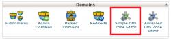 ایجاد و ساخت رکورد DNS باSimple DNS Zone Editor