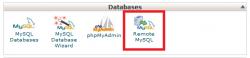 اتصال به Database از راه دور remote mysql در سی پنل