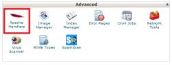 تنظیم وب سرور آپاچی برای مدیریت فایل ها در سی پنل