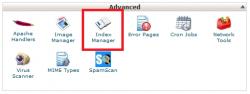 لغو Directory Browsing در سی پنل