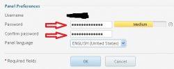 آموزش تغییر رمز ورود به کنترل پنل هاست