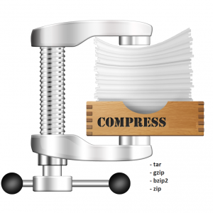 ابزارهای فشرده سازی در سیستم عامل لینوکس