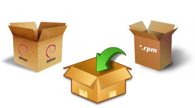 بسته و پکیج های نرم افزاری سیستم عامل لینوکس